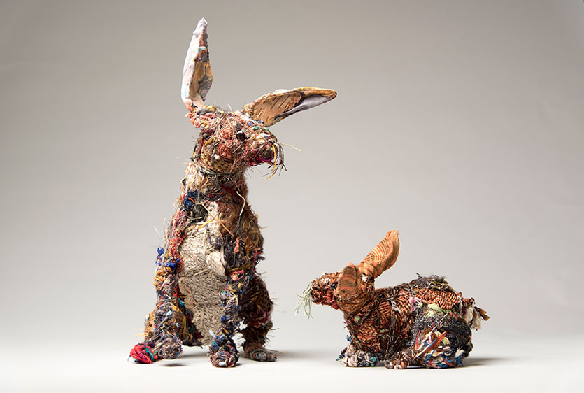Wrapping Wild: Making Animals out of Recycled Materials