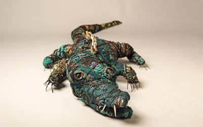 Wrapping Wild: Making Textile Sculptures out of Recycled Materials